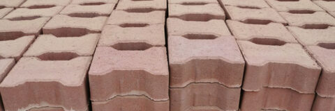 Red Color Paver, Pavement Blocks in Tema, Accra, Ghana